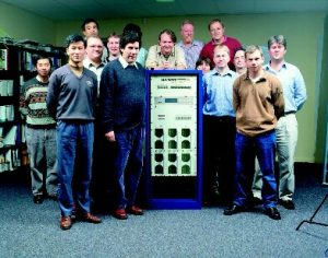 Setec team in early 90s